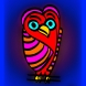 peter-hausser-abstract-animal-series-12-owl