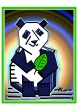 peter-hausser-abstract-animal-series-13-panda