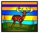 peter-hausser-abstract-animal-series-9-deer